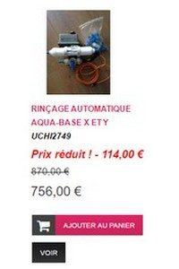 Rincage automatique - aqua-base - SLCE
